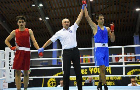 מדליית ארד באליפות אירופה באיגרוף לנוער לדניאל איליושונוק
